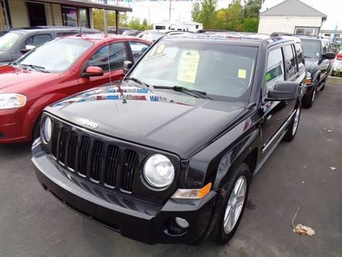 2010 Jeep Patriot for sale at Aspen Auto Sales in Wayne MI