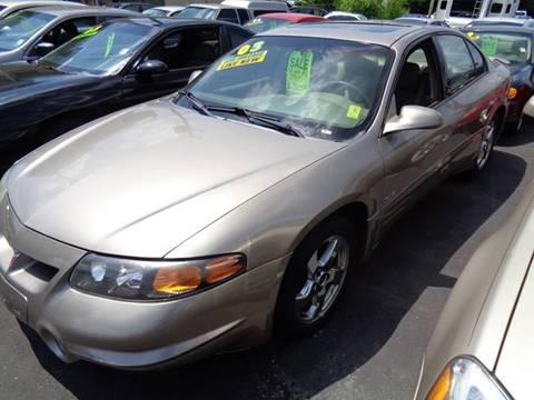 2003 Pontiac Bonneville for sale at Aspen Auto Sales in Wayne MI