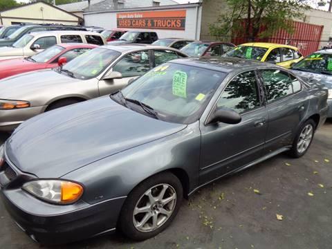 2004 Pontiac Grand Am for sale at Aspen Auto Sales in Wayne MI