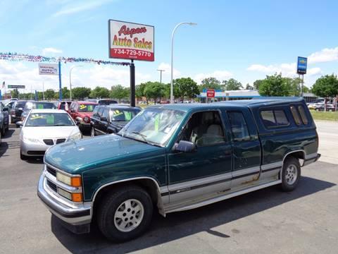 1995 Chevrolet C/K 1500 Series for sale at Aspen Auto Sales in Wayne MI