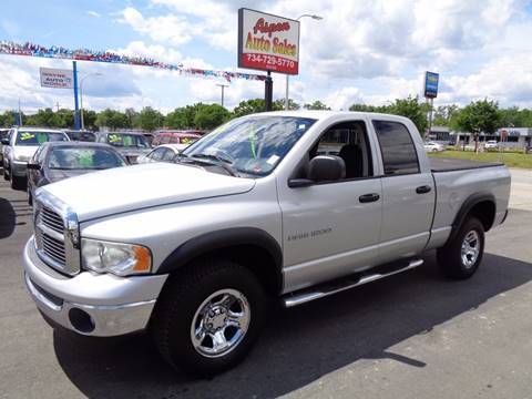 2003 Dodge Ram Pickup 1500 for sale at Aspen Auto Sales in Wayne MI