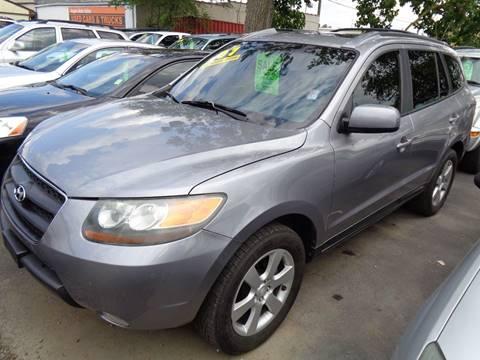 2007 Hyundai Santa Fe for sale at Aspen Auto Sales in Wayne MI