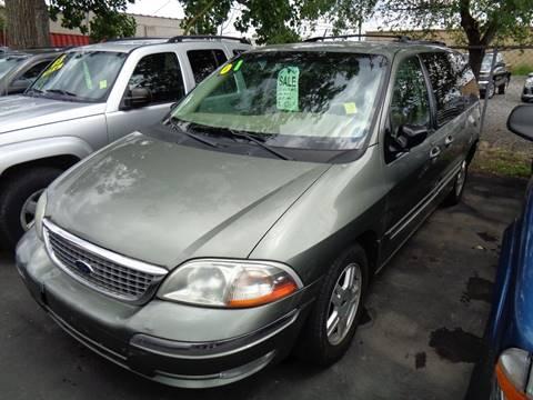 2001 Ford Windstar for sale at Aspen Auto Sales in Wayne MI