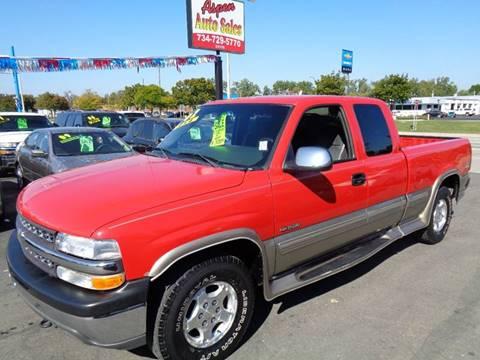 2002 Chevrolet Silverado 1500 for sale at Aspen Auto Sales in Wayne MI