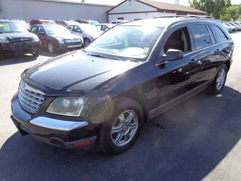 2004 Chrysler Pacifica for sale at Aspen Auto Sales in Wayne MI