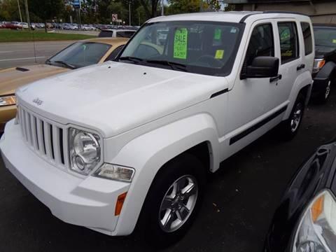 2012 Jeep Liberty for sale at Aspen Auto Sales in Wayne MI
