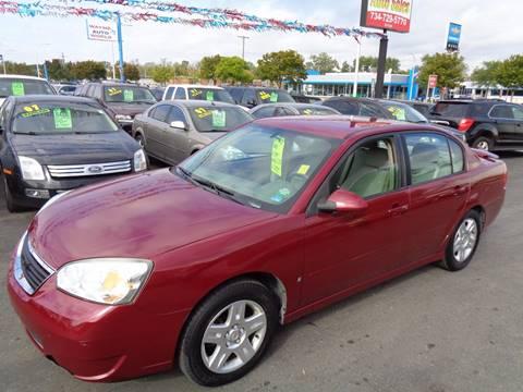 2007 Chevrolet Malibu for sale at Aspen Auto Sales in Wayne MI