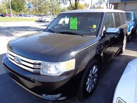 2009 Ford Flex for sale at Aspen Auto Sales in Wayne MI