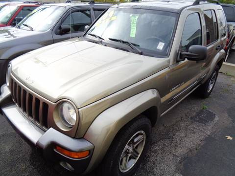 2004 Jeep Liberty for sale at Aspen Auto Sales in Wayne MI
