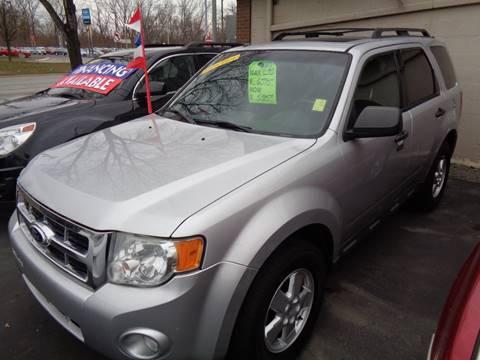 2010 Ford Escape for sale at Aspen Auto Sales in Wayne MI