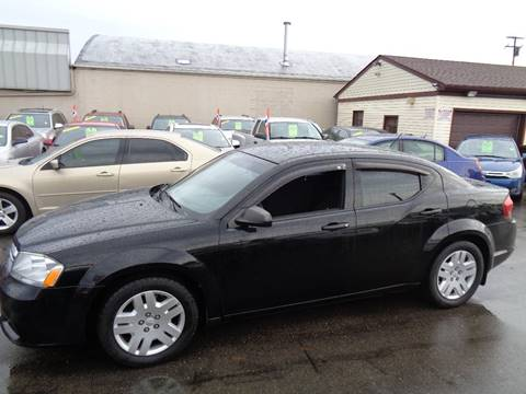 2011 Dodge Avenger for sale at Aspen Auto Sales in Wayne MI