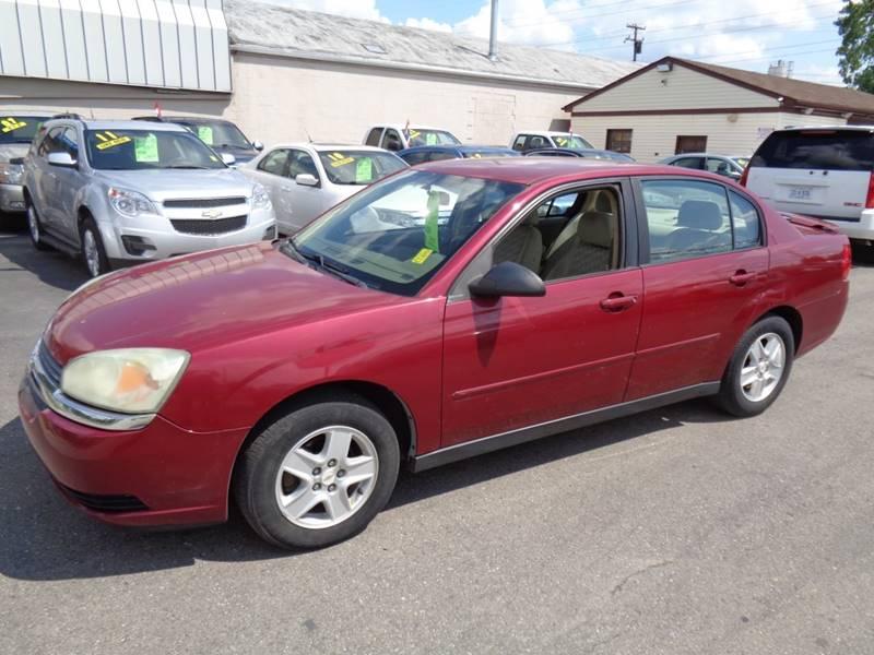 Nice 2005 Chevrolet Malibu For Sale At Aspen Auto Sales In Wayne MI