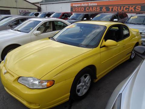 2004 Chevrolet Monte Carlo for sale in Wayne, MI