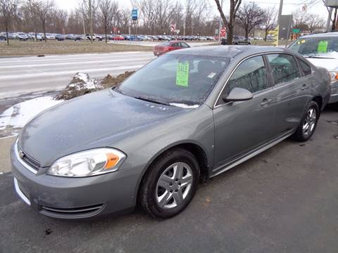 2009 Chevrolet Impala for sale at Aspen Auto Sales in Wayne MI
