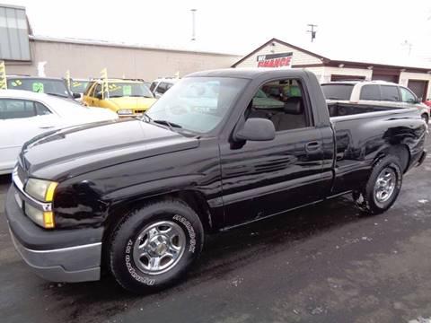 2003 Chevrolet Silverado 1500 for sale at Aspen Auto Sales in Wayne MI