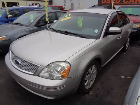 2007 Ford Five Hundred for sale at Aspen Auto Sales in Wayne MI
