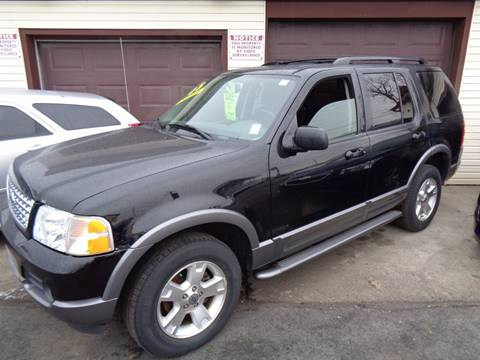 2003 Ford Explorer for sale at Aspen Auto Sales in Wayne MI