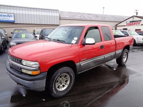 2000 Chevrolet Silverado 1500 for sale at Aspen Auto Sales in Wayne MI