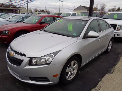 2012 Chevrolet Cruze for sale at Aspen Auto Sales in Wayne MI