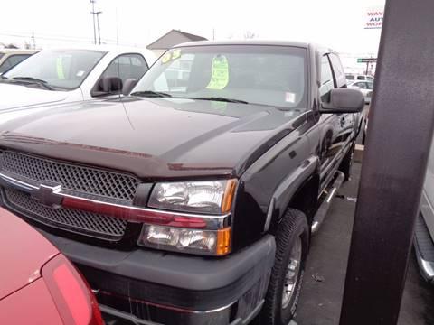 2003 Chevrolet Silverado 2500HD for sale at Aspen Auto Sales in Wayne MI