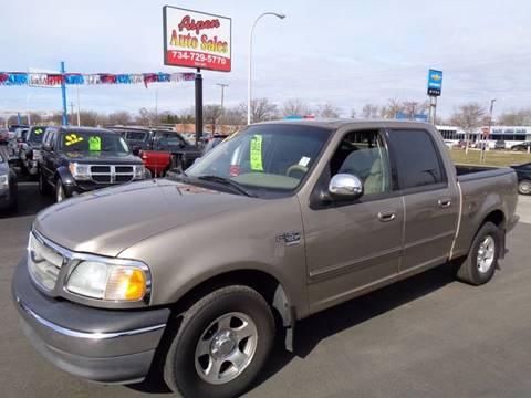 2002 Ford F-150 for sale at Aspen Auto Sales in Wayne MI