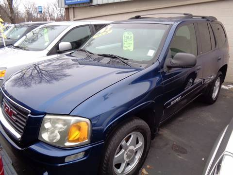 2002 GMC Envoy for sale at Aspen Auto Sales in Wayne MI
