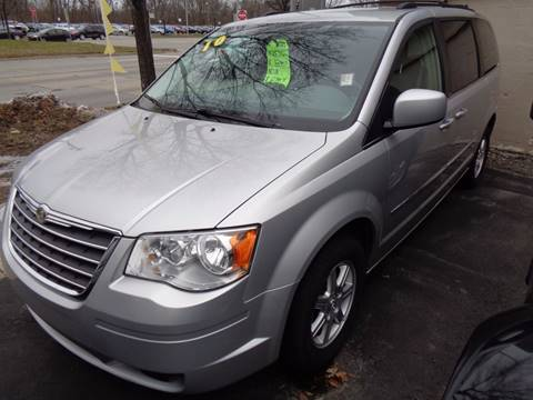 2010 Chrysler Town and Country for sale at Aspen Auto Sales in Wayne MI