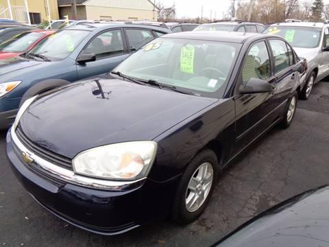 2005 Chevrolet Malibu for sale at Aspen Auto Sales in Wayne MI