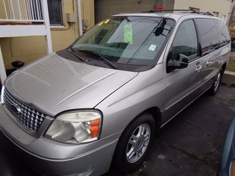 2004 Ford Freestar for sale at Aspen Auto Sales in Wayne MI