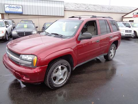 2007 Chevrolet TrailBlazer for sale at Aspen Auto Sales in Wayne MI