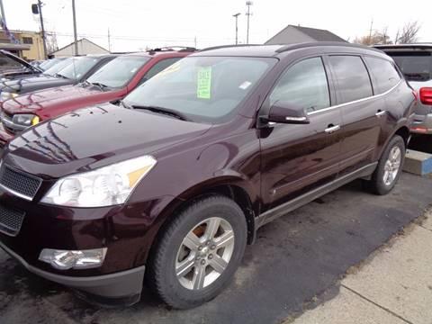2010 Chevrolet Traverse for sale at Aspen Auto Sales in Wayne MI