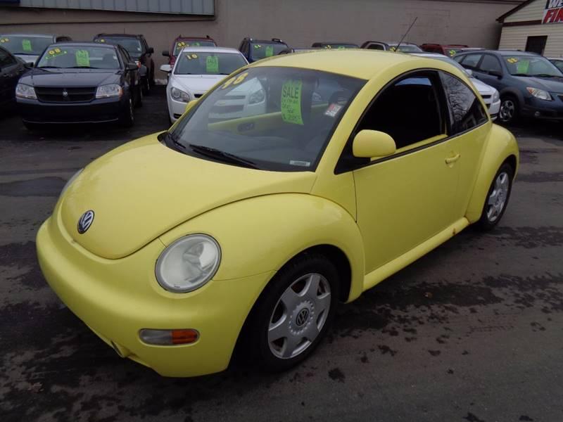 1998 Volkswagen New Beetle for sale at Aspen Auto Sales in Wayne MI