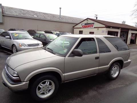 2002 Chevrolet Blazer for sale at Aspen Auto Sales in Wayne MI