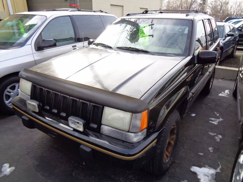 1995 Jeep Grand Cherokee For Sale At Aspen Auto Sales In Wayne MI