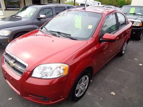 2011 Chevrolet Aveo for sale at Aspen Auto Sales in Wayne MI