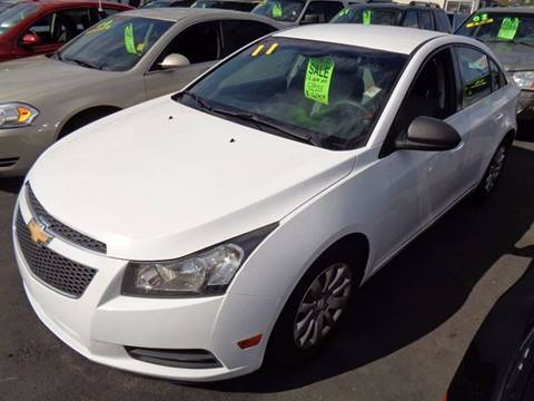 2011 Chevrolet Cruze for sale at Aspen Auto Sales in Wayne MI