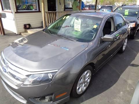 2010 Ford Fusion for sale at Aspen Auto Sales in Wayne MI