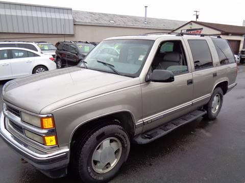 1999 Chevrolet Tahoe for sale at Aspen Auto Sales in Wayne MI