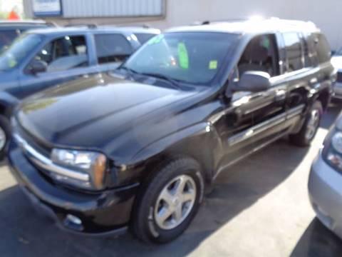 2002 Chevrolet TrailBlazer for sale at Aspen Auto Sales in Wayne MI