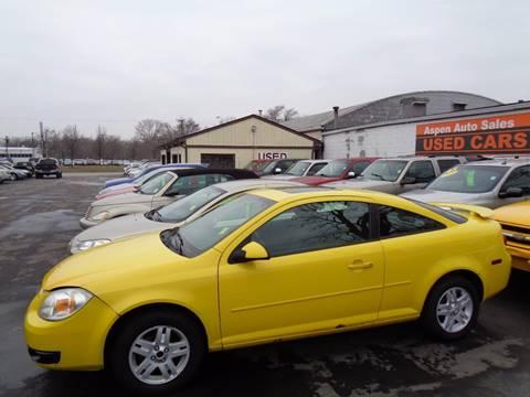 2005 Chevrolet Cobalt for sale at Aspen Auto Sales in Wayne MI
