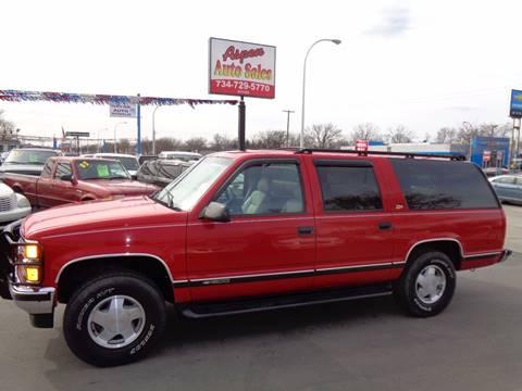 1999 Chevrolet Suburban for sale at Aspen Auto Sales in Wayne MI