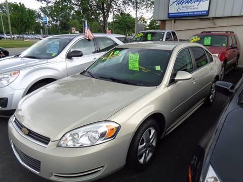 2010 Chevrolet Impala for sale at Aspen Auto Sales in Wayne MI