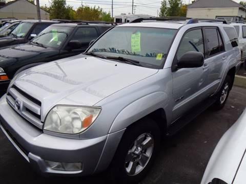 2004 Toyota 4Runner for sale at Aspen Auto Sales in Wayne MI