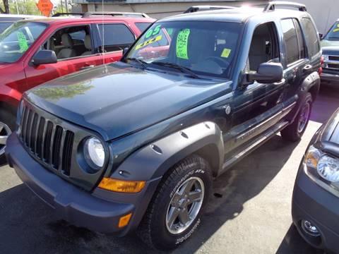 2005 Jeep Liberty for sale at Aspen Auto Sales in Wayne MI