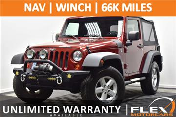 2008 Jeep Wrangler for sale at Flex Motorcars in Houston TX