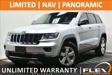 2012 Jeep Grand Cherokee for sale at Flex Motorcars in Houston TX