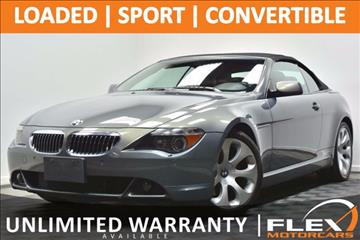 2005 BMW 6 Series for sale at Flex Motorcars in Houston TX