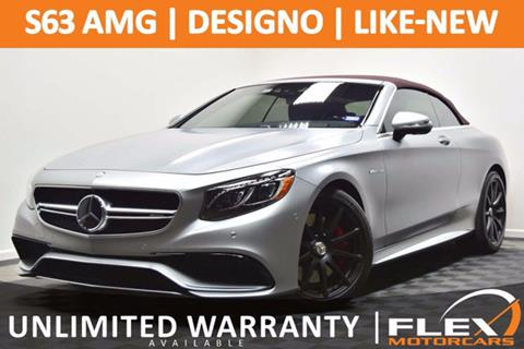 2017 Mercedes-Benz S-Class for sale at Flex Motorcars in Houston TX