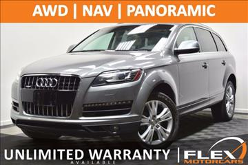 2011 Audi Q7 for sale at Flex Motorcars in Houston TX
