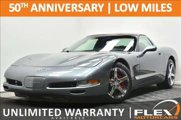 2003 Chevrolet Corvette for sale at Flex Motorcars in Houston TX